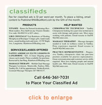 example of Classified Ad