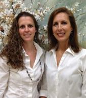 Stephanie Brown, CCT left Dr. JoEllen Halteman, CCT right