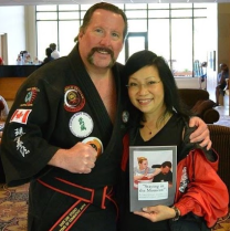 Mike Andrus with actress and participant Sifu Patricia Lee Chu