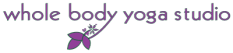 whole body yoga studio logo