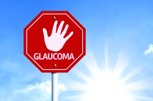55785743 - glaucoma written on the road sign