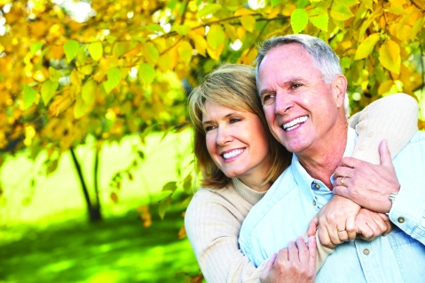 11292652 - happy elderly couple.